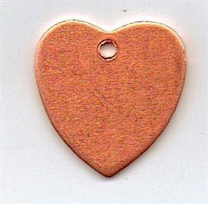 Picture of CB802, Medium heart, pierced