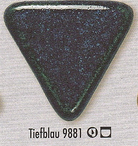 Picture of Botz  9881 Deep Blue Stoneware Glaze