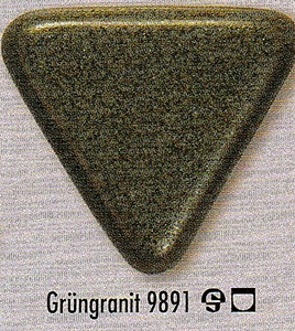 Corby Kilns Ltd Botz 9891 Green Granite Stoneware Glaze