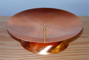 Picture of CB121A Copper candle holder, large