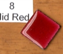 Picture of 8 Mid Red transparent