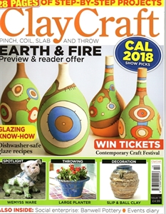 Picture of Clay Craft magazine, issue 14 LAST ONE!