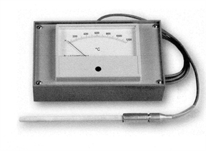Picture of M14 Pyrometer and Thermocouple