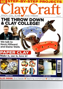 Picture of Clay Craft magazine, issue 31