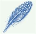 Picture of 604 Blue underglaze pencil