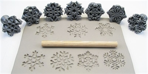 Picture of Relyef Stamps RR-30-Snowflakes-SET